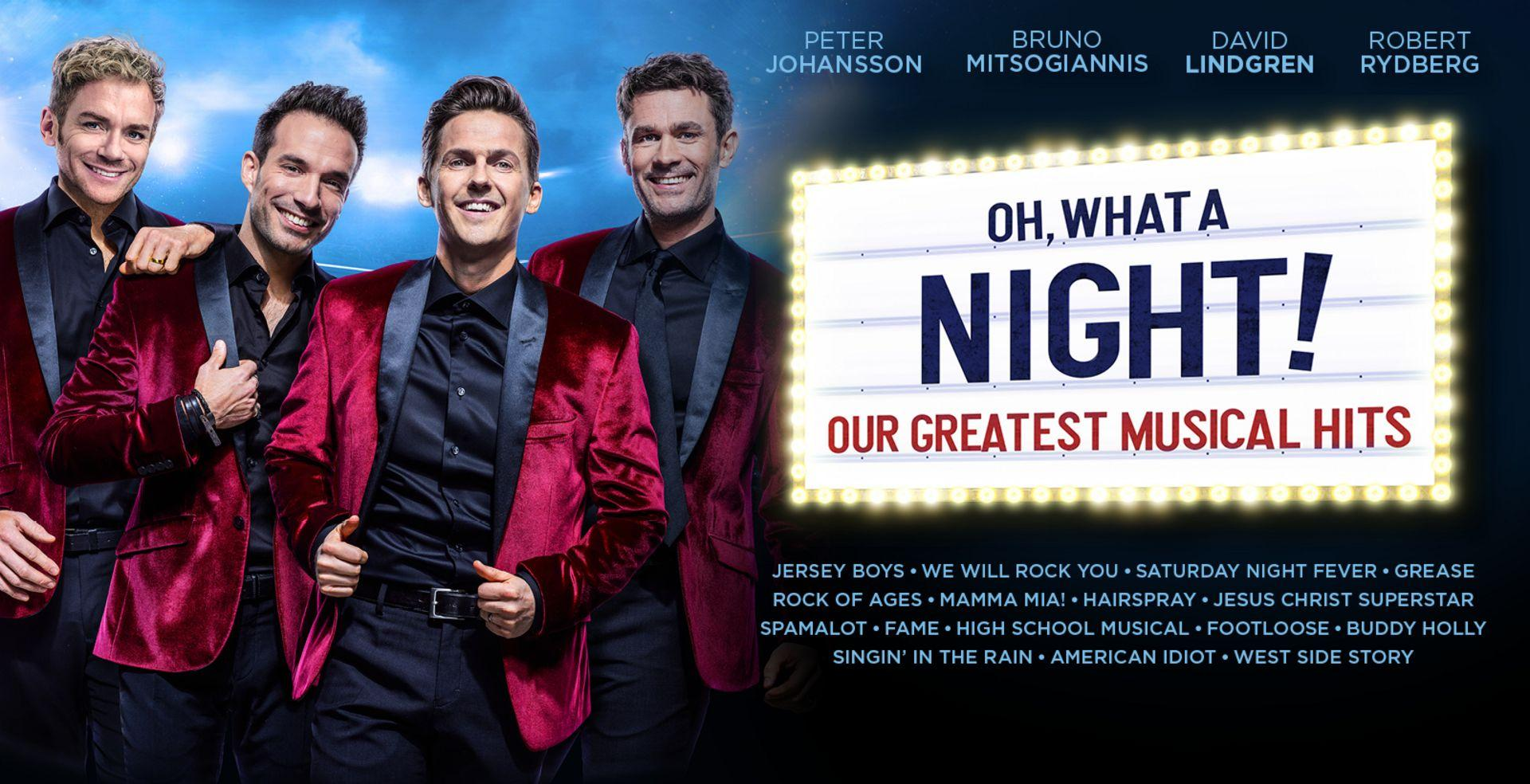 Oh what a night! -Our greatest musical hits