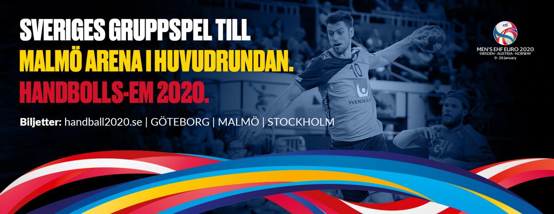 Euro Handball 2020 Malmo Arena